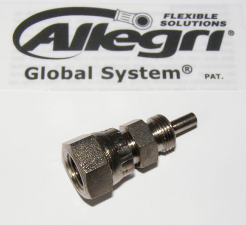 06GS3707 Global System, Fitting Innengewinde 3/8 x 24UNF, 0°